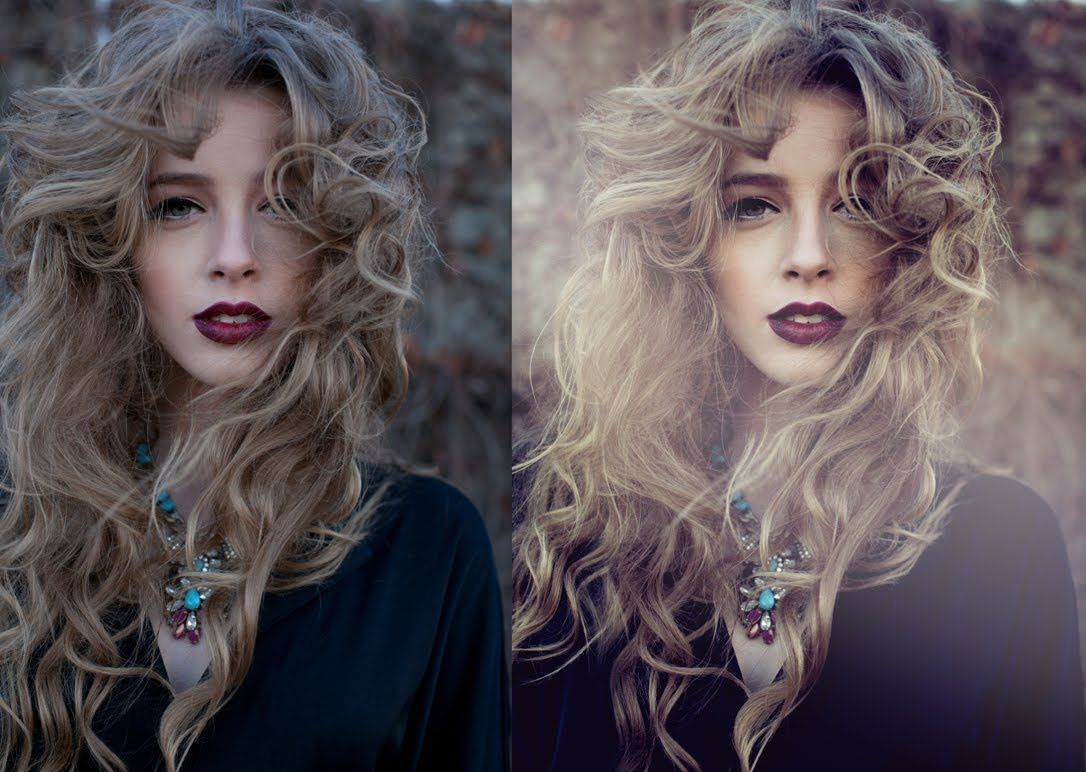 How To Edit And Color Fashion Portraits  Photoshop Tutorial