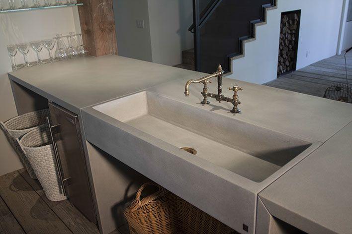 Sonoma Cast Stone Concrete Sinks | Concrete Kitchen Sinks | Dreaming ...