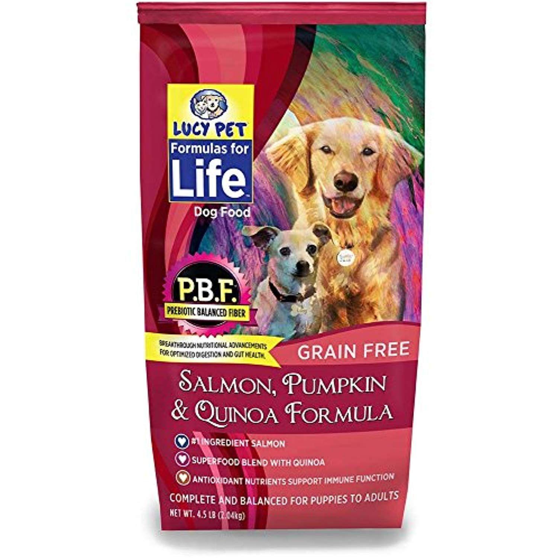 Lucy Pet Formulas For Life Salmon Pumpkin And Quinoa Dog Food