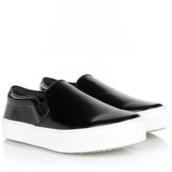 Celine Slip-On Sneaker Black Shoe ($570