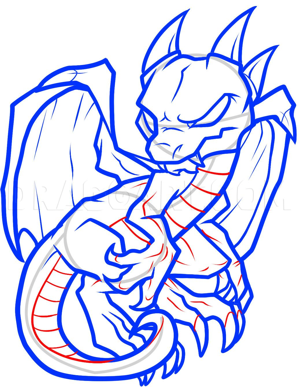 How To Draw An Anthro Baby Dragon Anthro Baby Dragon Step By Step Drawing Guide By Dawn In 2020 Dragon Coloring Page Coloring Pages Coloring Pages For Grown Ups