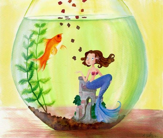 How To Decorate Fish Bowl Decorative Fish Bowl Ideas Fish Bowl Decorations For Girls