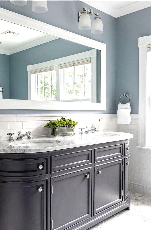 Grey Bathroom Color Schemes In 2020 Bathroom Color Schemes Modern Bathroom Cabinets Bathrooms Remodel