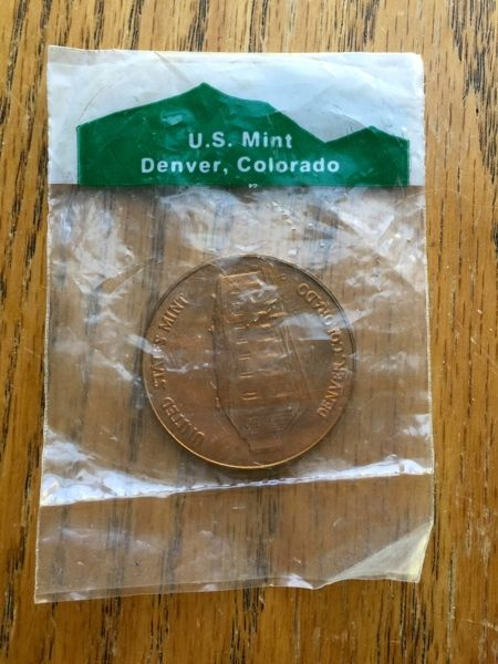 The Department of Treasury United States Mint Denver ...