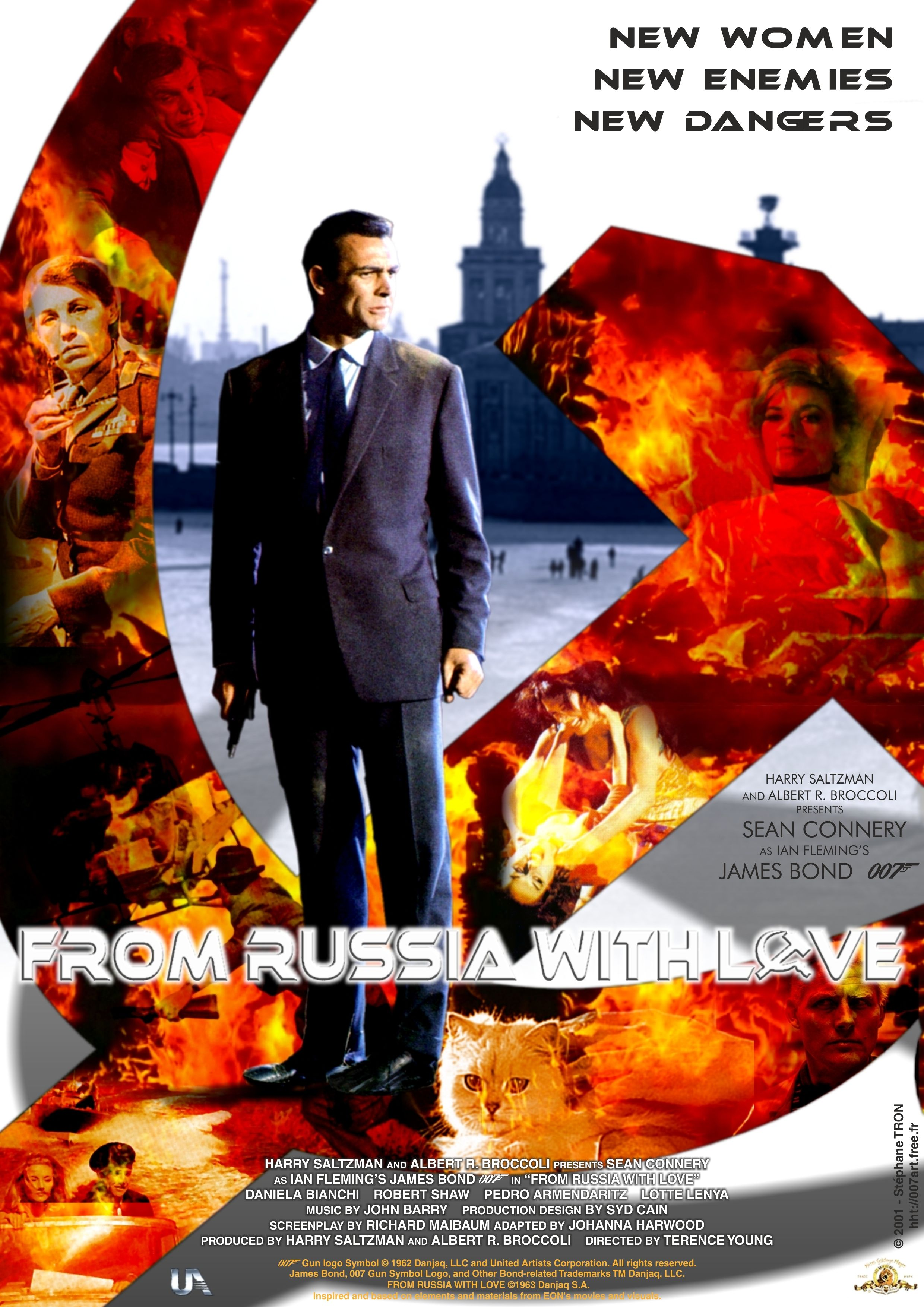 James Bond From Russia With Love Fan Poster 007 James Bond
