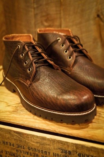 Rugged Bison Chukka Boot Mens