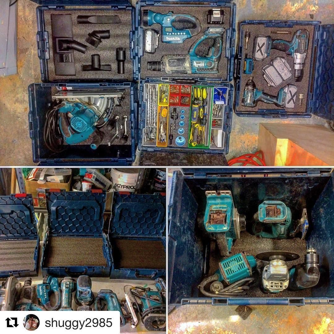 Bosch L Boxx S All Foamed Up Repost Shuggy2985 Organisation Is Key Boschlboxx Kaiseninserts Foamfordays Tooltetris Makita Kaizentoolinsert Boscht