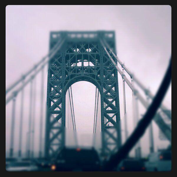 GW Bridge into NYC
