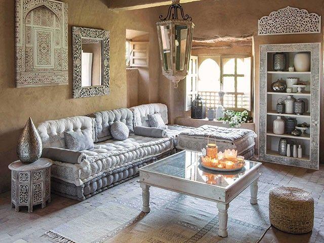 D coration de salon marocian palette pinterest for Salon oriental chic
