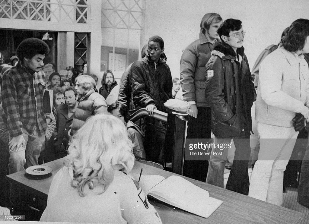Job Seekers at the Casual Labor Agency 1976