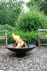 Esschert Design Ff90 Fire Bowl Xl Fancy Flames Fire Bowls Fire