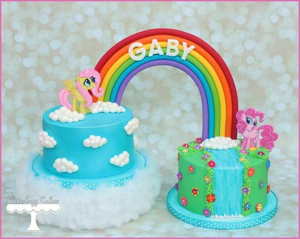 My Little Pony Arco Ris Pinterest Pony And Pony Cake