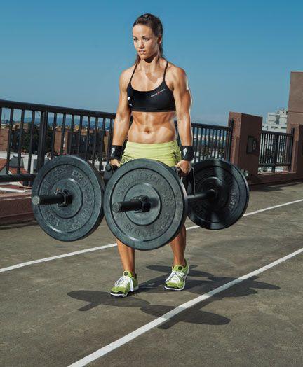 Camille LeBlanc - Bazinet, Cross Fit Champion