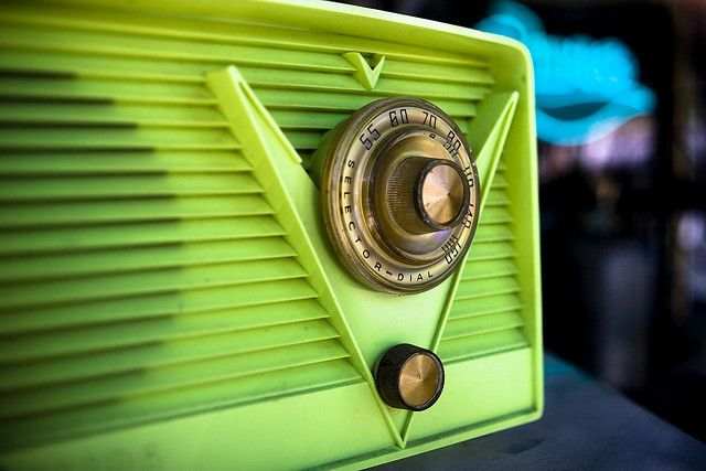 amazing vintage radio