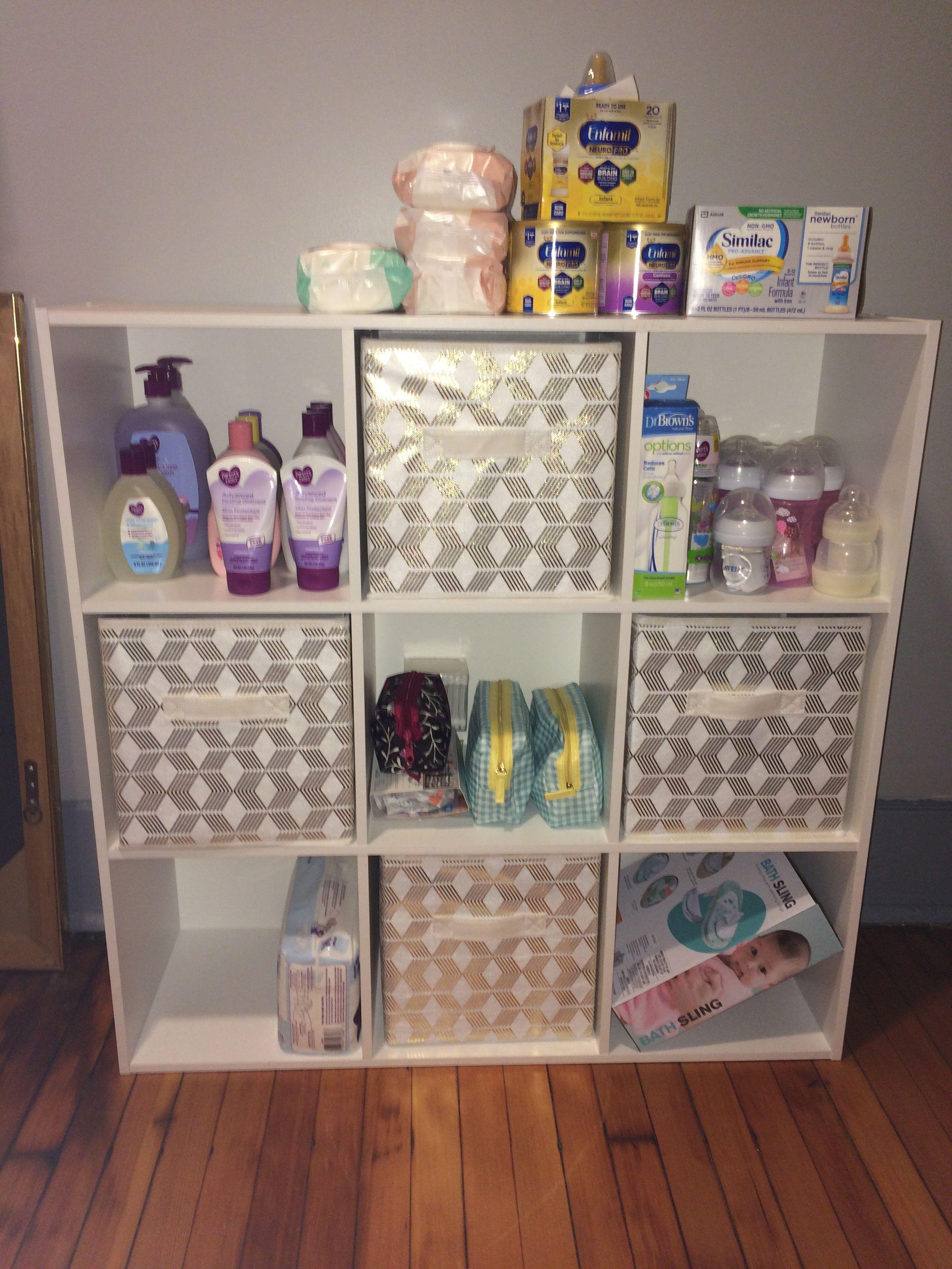 Baby girl nursery organization | Baby organization, Baby room