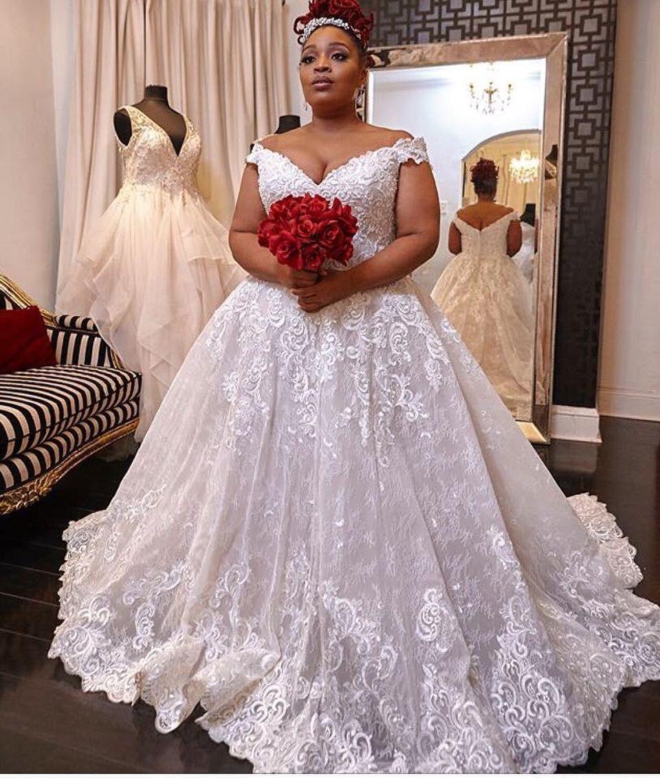 Custom Made Plus Size Bridal Gowns Couplegoals En 2019