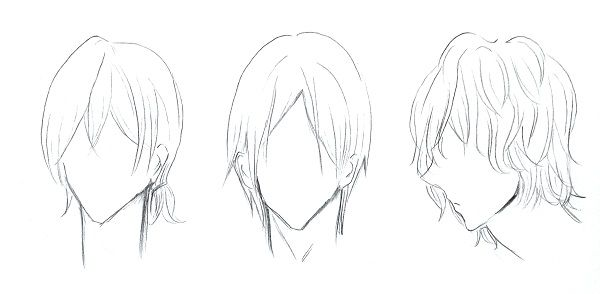 Cara Menggambar Rambut Manga Cowok Mayagami Rambut Manga Cara Menggambar Gambar