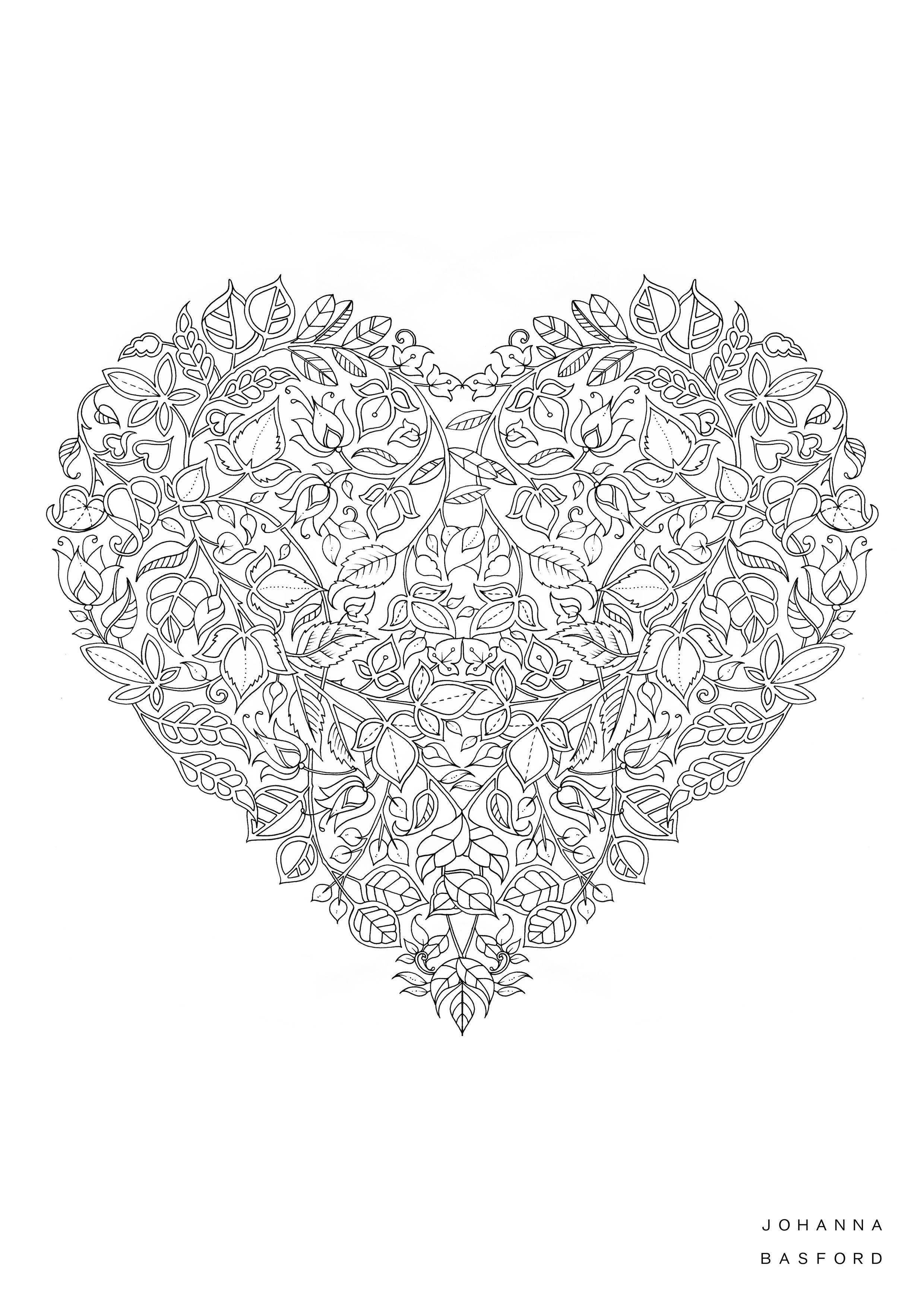 Pin de passarini antonio julio en corazones | Pinterest | Mandalas ...
