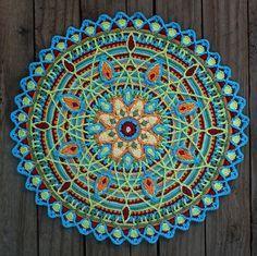 Ganchillo Overlay Mandala Nº 5, patrón PDF