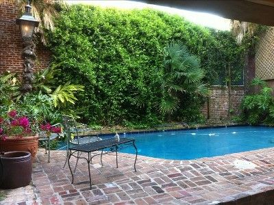 Good Love The Brick Around The Pool   French Quarter Vacation Rental   VRBO  329702   3 BR New Orleans House In LA, Historic 3 BR Home On Bourbon Street  W/ ...