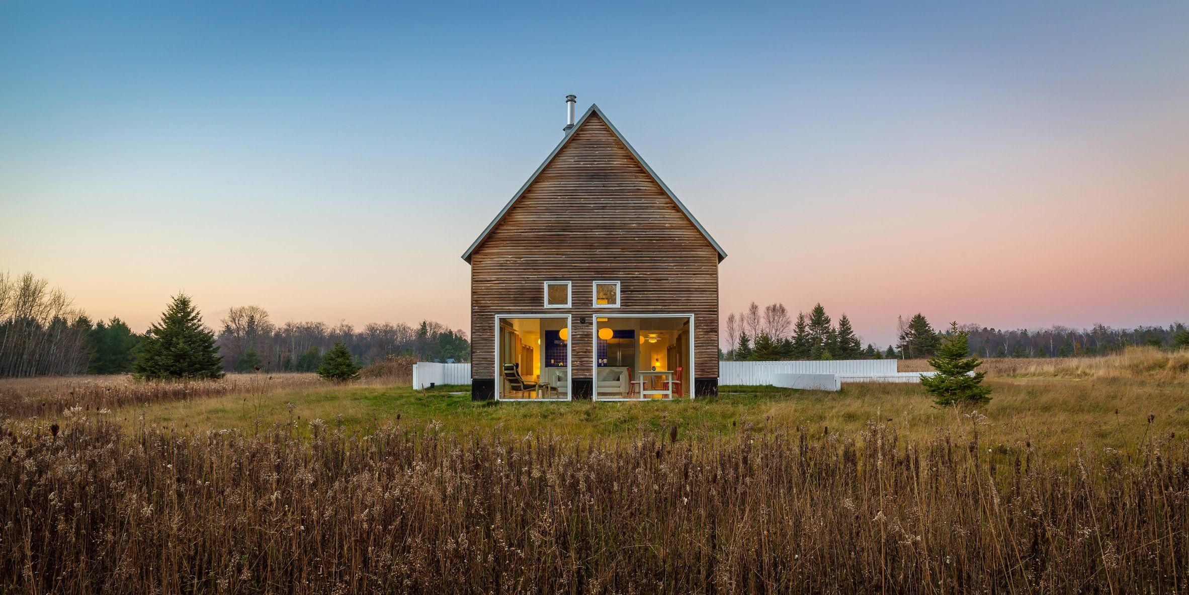 Wisconsin Country House By American Studio Salmela Architect