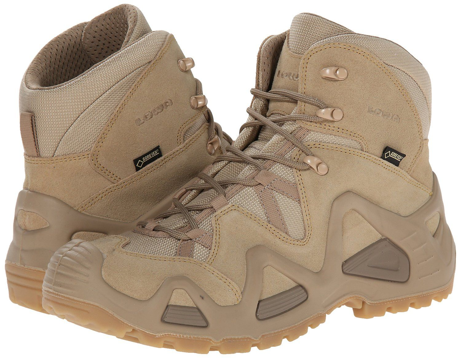 Lowa Mens Zephyr Gore-Tex Mid Task Force Military Hiking Leather Boots