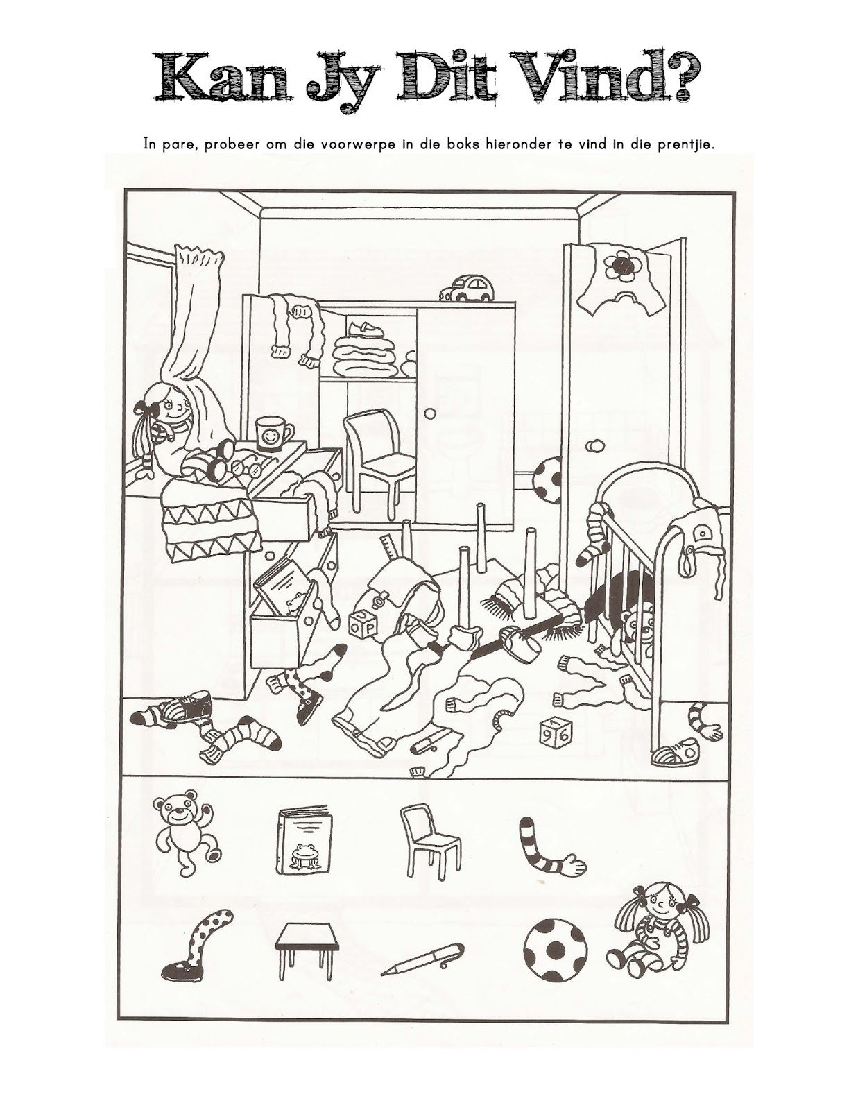 Classy Worksheets Grade 5 Afrikaans with Additional Worksheets for ...