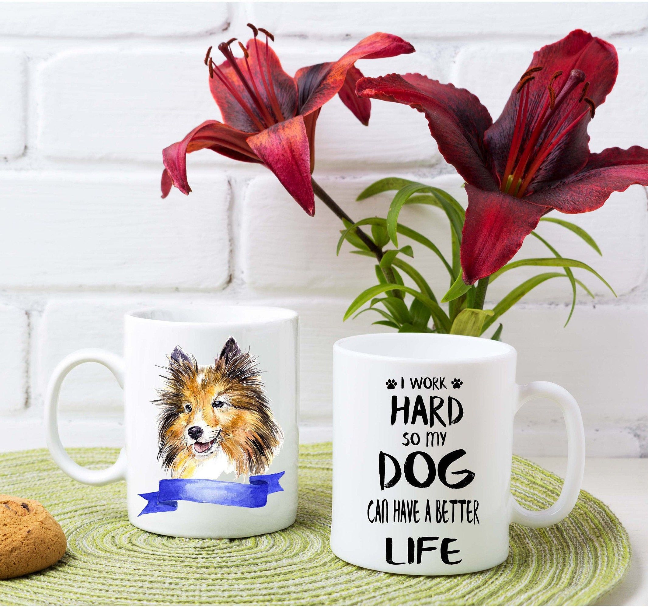 Border Collie custom mug dos lovers mugs dogs breeder custom Mug