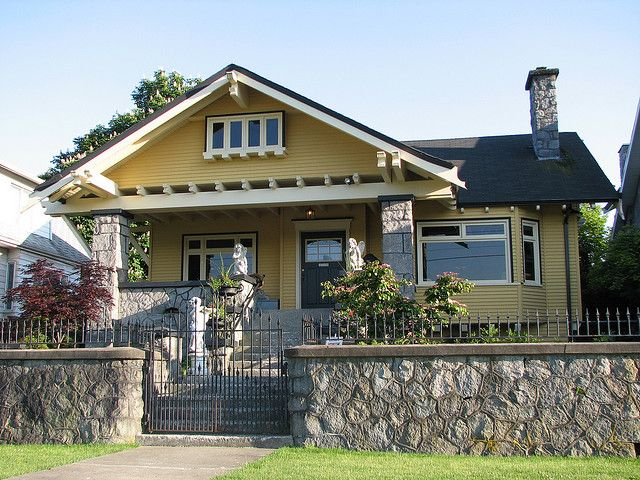 Heritage house 1907 craftsman bungalows california for John f long homes