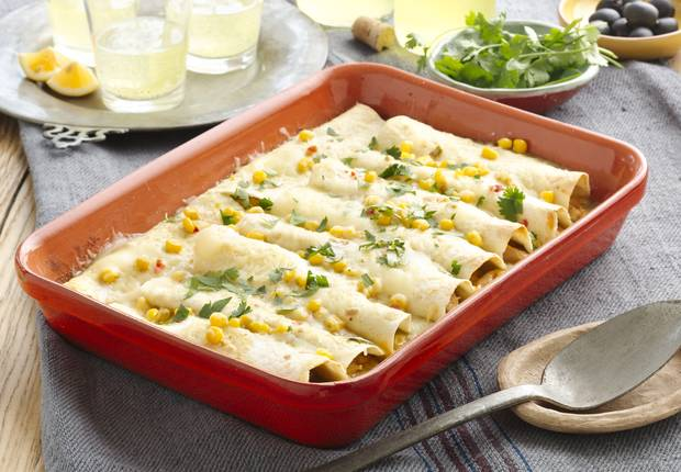 Chicken and Corn Enchiladas Recipe Recipes, Best easy