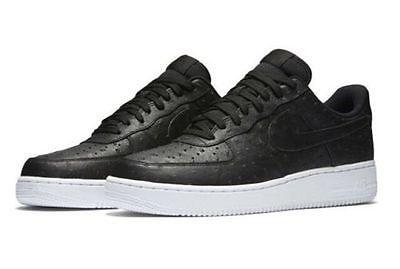 cobre trabajador Interesante  NEW Air Force 1 07 LV8 718152-009 Men's Black/Black/White Ostrich Pack SZ  11 | Nike shoes for sale, Nike shoes cheap, New air force 1