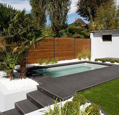 caron piscines mini piscine de haro exterior. Black Bedroom Furniture Sets. Home Design Ideas