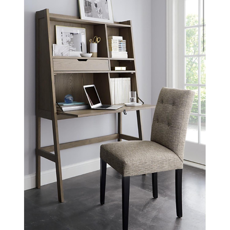 Crate & Barrel Clarke Secretary Desk 4 Furnishings