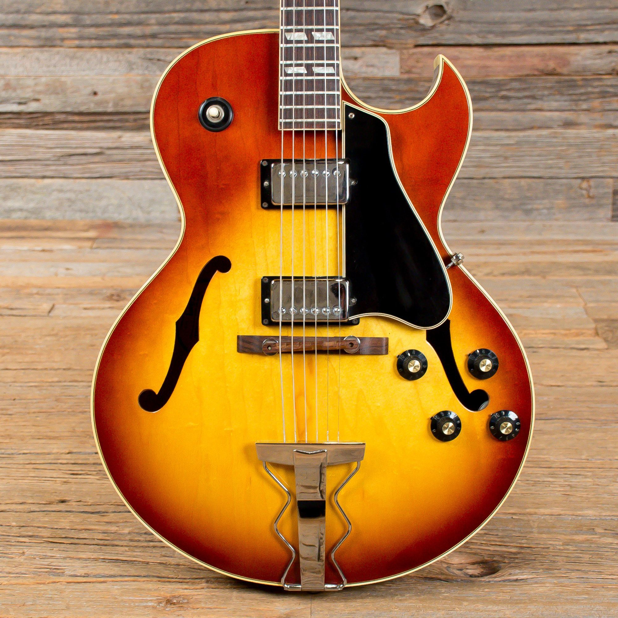 Gibson ES175 Sunburst 1969 (s303) (With images