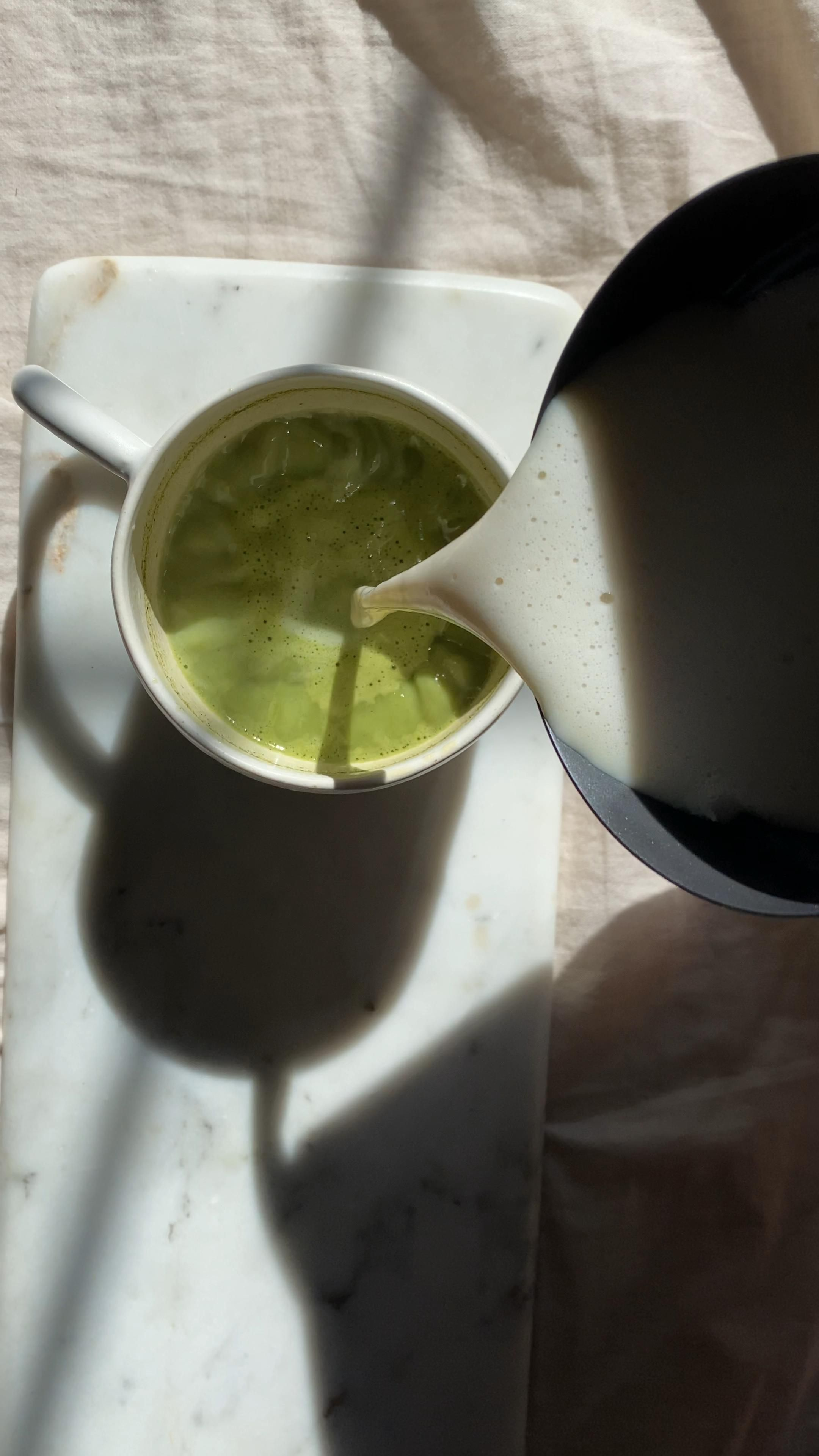 Photo of Matcha Latte with Adaptogens