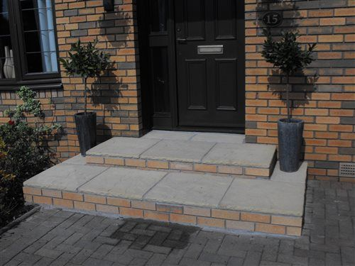 Best Brickwork Services New Large Front Steps Bothwell 400 x 300