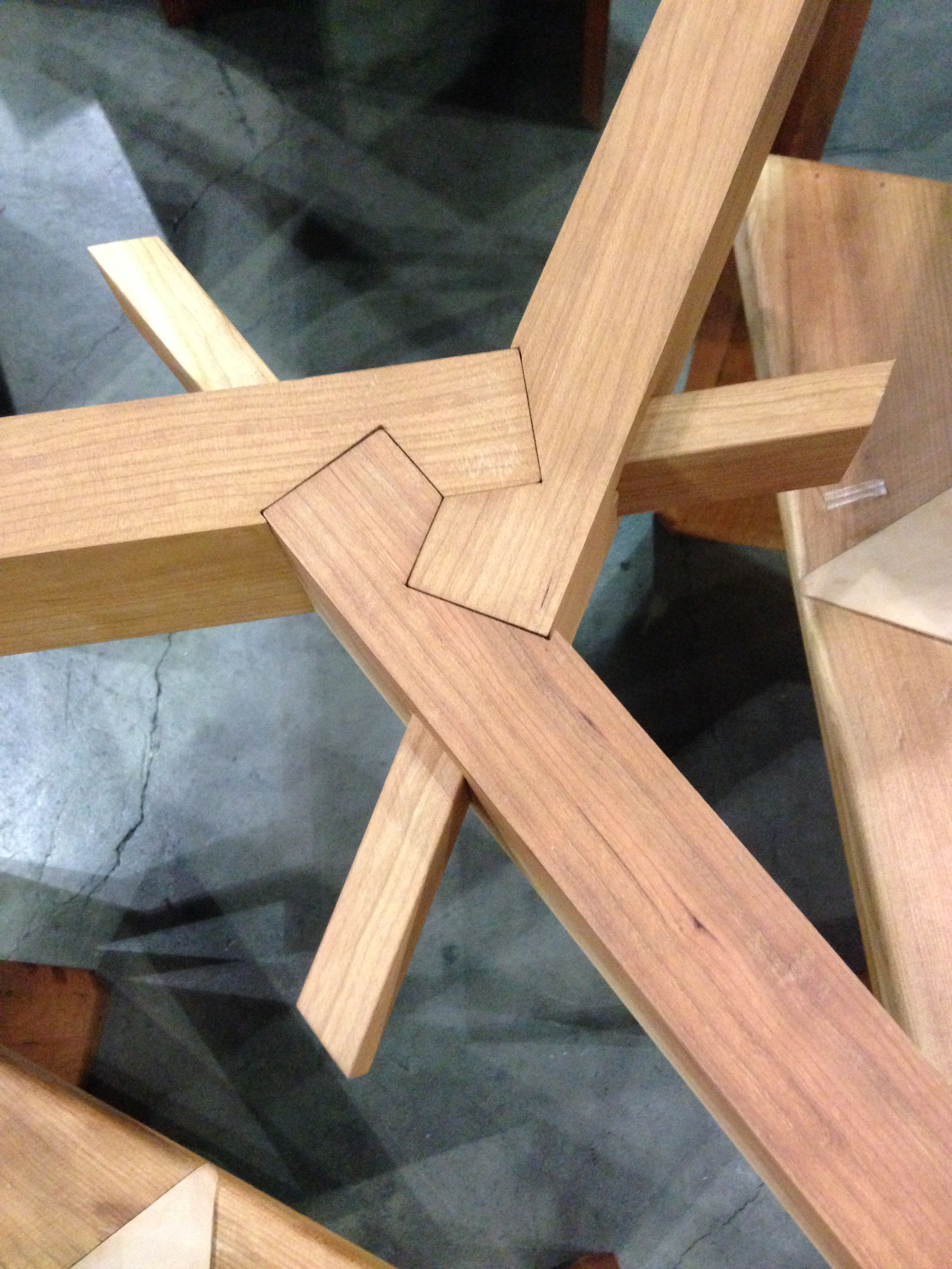 Complex Wood Joinery   Google Search