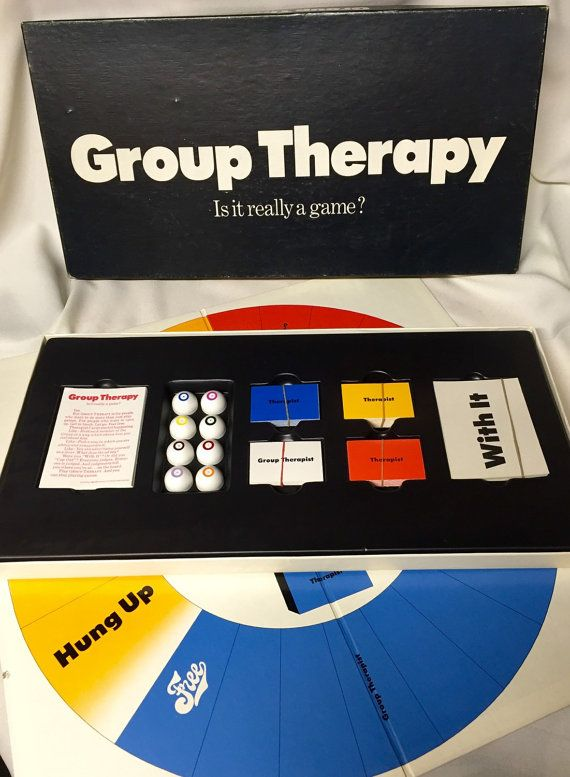 Hey, I found this really awesome Etsy listing at https://www.etsy.com/listing/224528063/1969-vintage-board-game-group-therapy