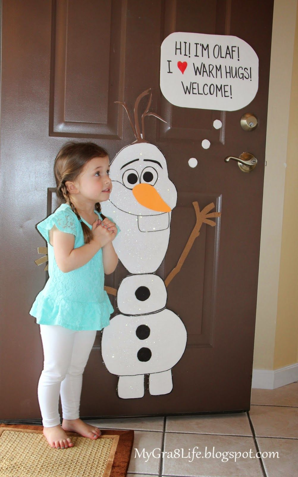 How to Make Olaf Would be cute for a pin the nose on Olaf game Olaf birthday party Frozen