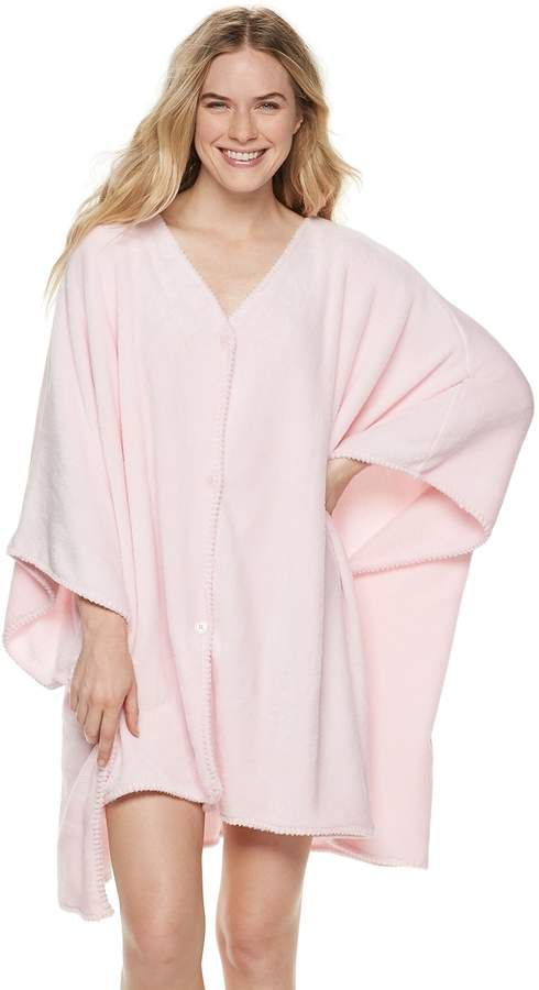66e874bce225 Women's SONOMA Goods for Life™ Poncho Robe | Products | Robe, Ladies ...