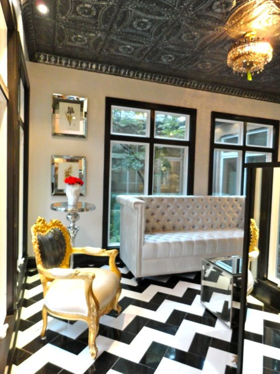Hilary White Liv Chic Interior Design Modern Baroque Furniture