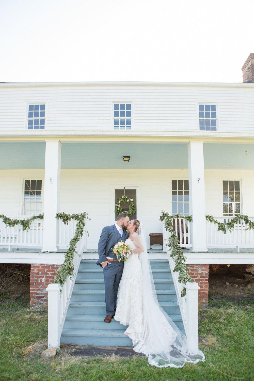 Kat + Nathan Idyllic Farmhouse Wedding with Family