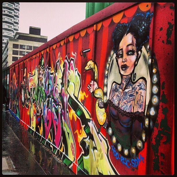 Hoarding Graffiti