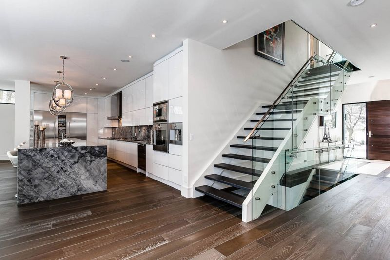 Dise o de escaleras interiores minimalistas buscar con for Modelos de escaleras modernas