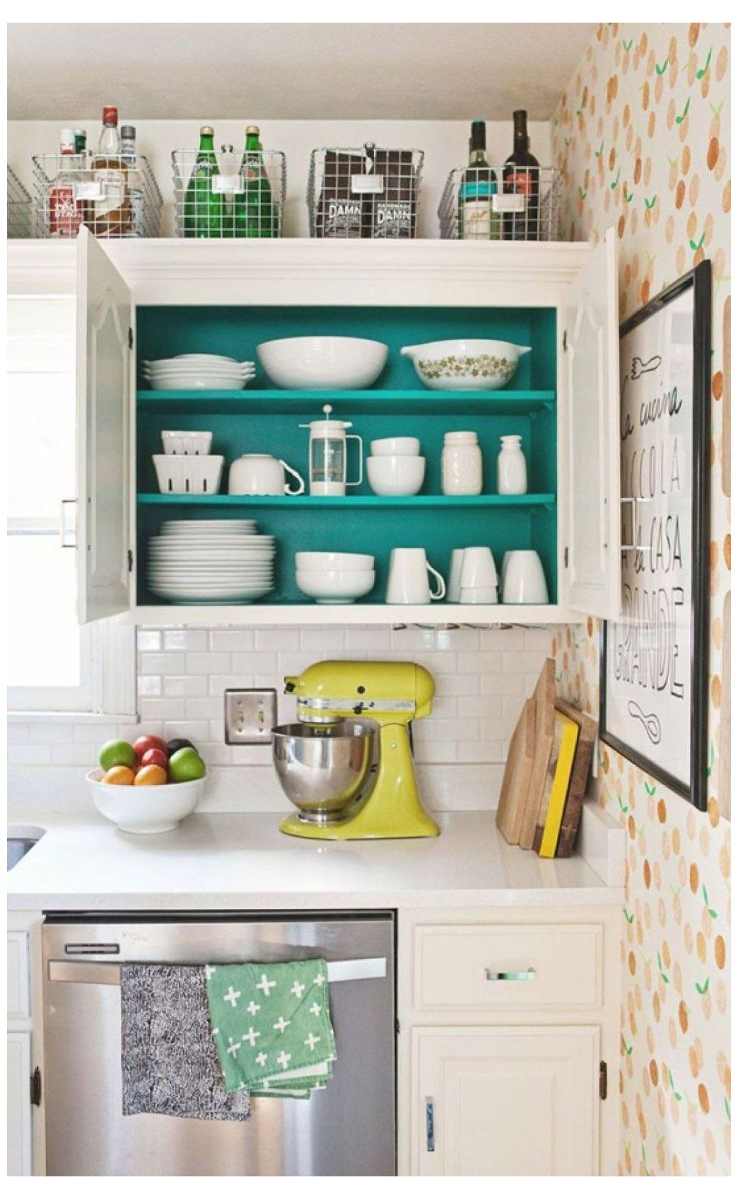 Pin By Ashley Kurschner On Remodel In 2020 Above Kitchen Cabinets Decorating Above Kitchen Cabinets Corner Kitchen Cabinet