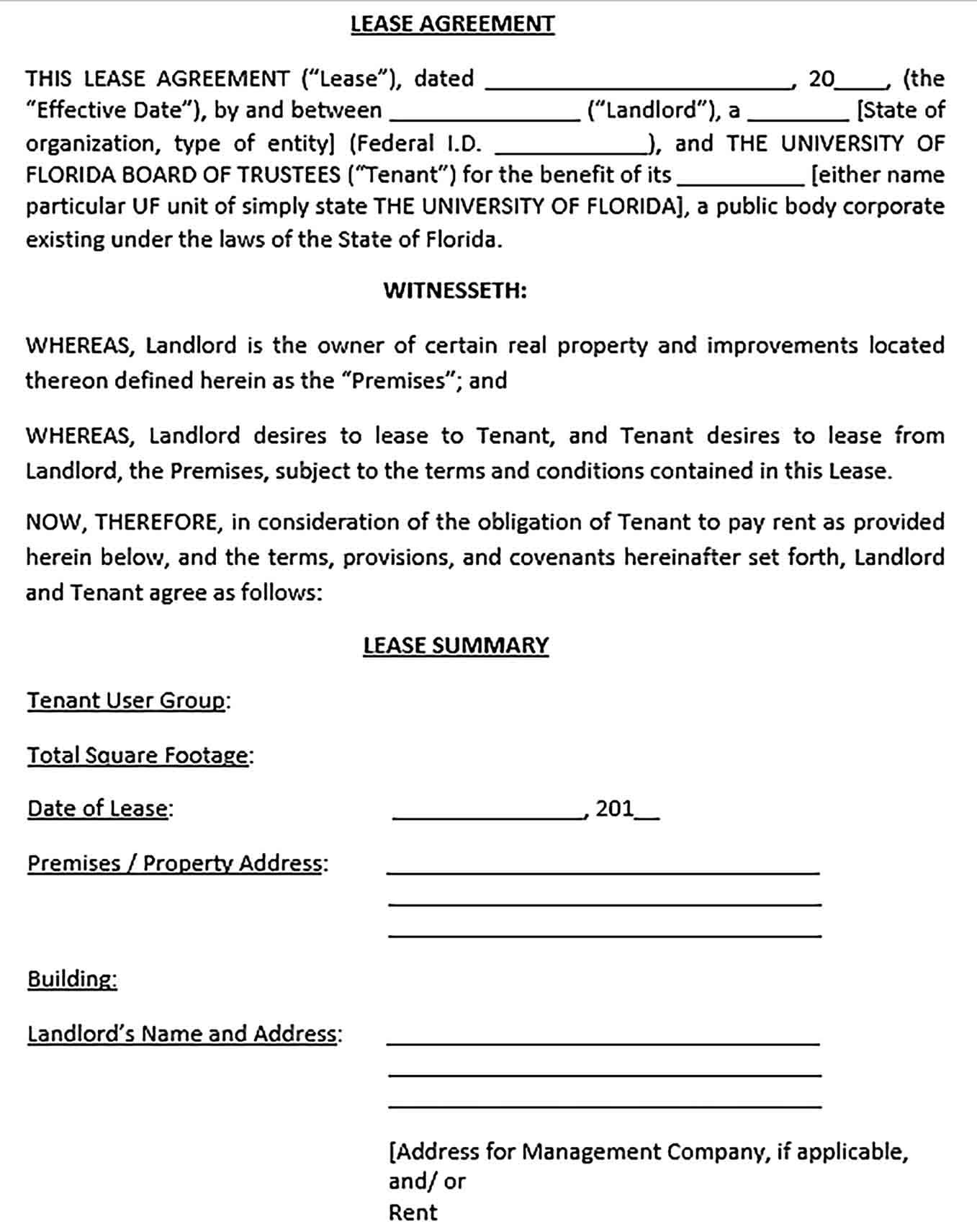 26 Free Commercial Lease Agreement Templates Templatelab Commercial Lease Contract Templ In 2021 Lease Agreement Rental Agreement Templates Commercial Lease Agreement