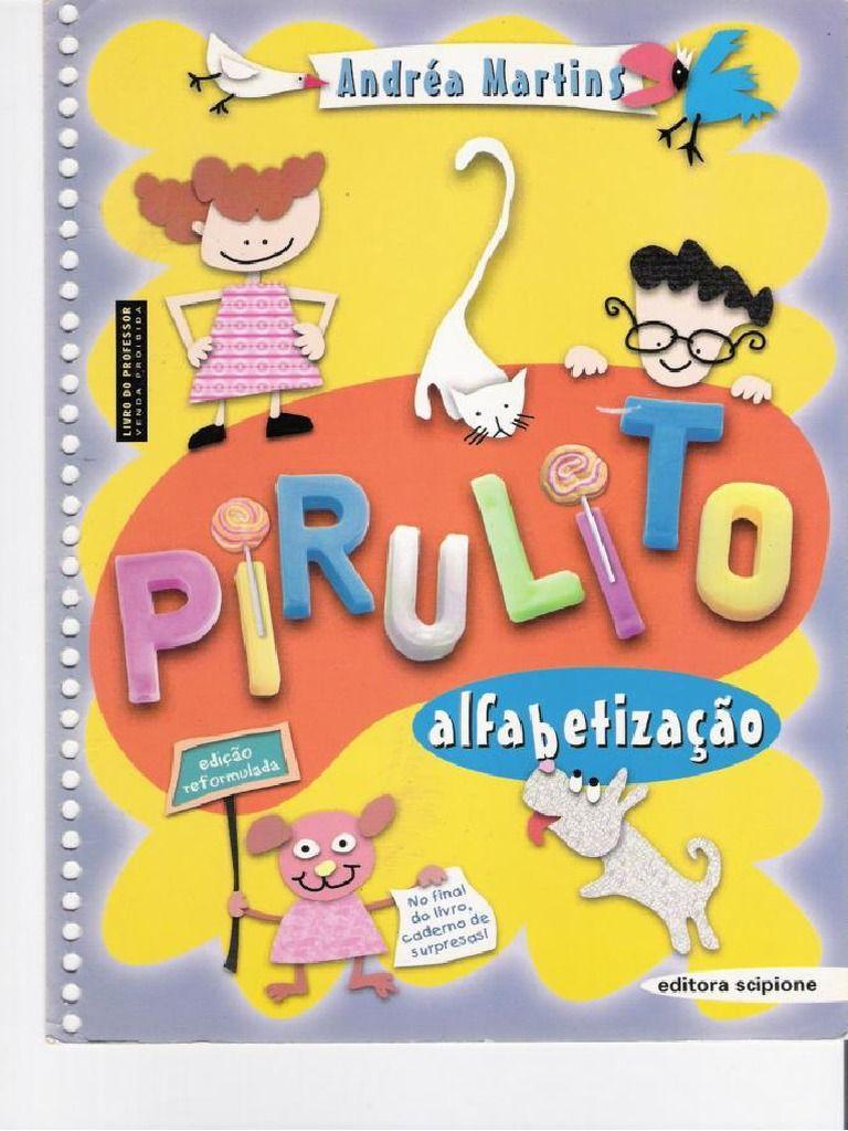 Cartilha De Alfabetizacao Pirulito Ebook Download As Pdf File