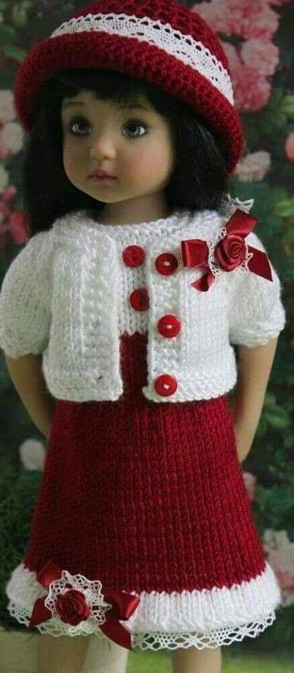 99) Одноклассники   Puppen   Pinterest   Puppenkleidung, Bären und ...