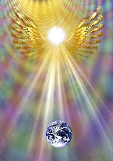 Universo Espiritual Compartiendo Luz Hagan Brillar Su Luz Incondicionalmente Por Jennifer Hoffman Imágenes De ángeles ángeles De Dios Imágenes Religiosas