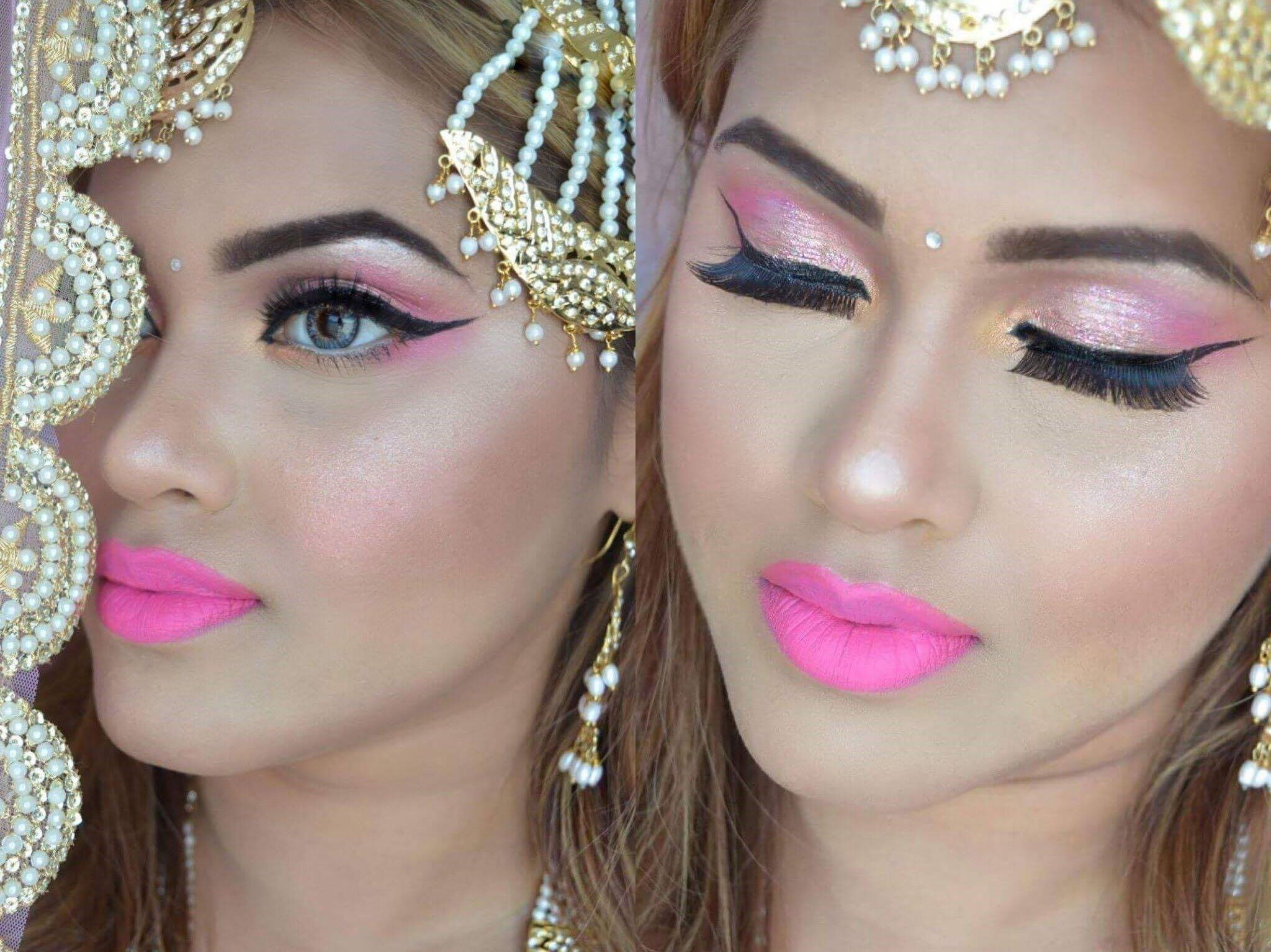 eid makeup & hair 2016| engagement| inspired by kashee's